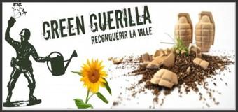 Devenez Green Guerilleros