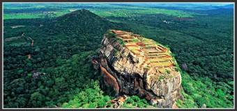 Sigiriya : Le rocher du Lion