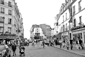 rue Lepic à Paris