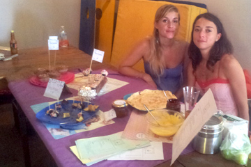 s'intégrer à la vie locale-Funfetti-bakery