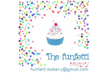 logo funfetti bakery