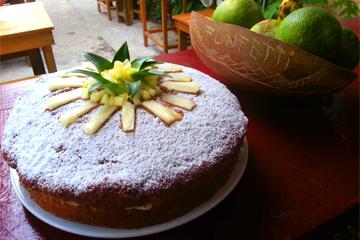 funfetti bakery - pineapple cake