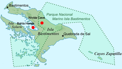 map bahia honda