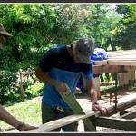 Pose du plancher terrasse – Ep 6 – Ecolodge OTDM