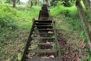 escaliers du ranch