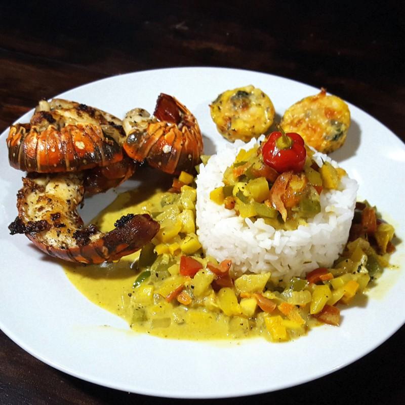 langoustes- el caribeo