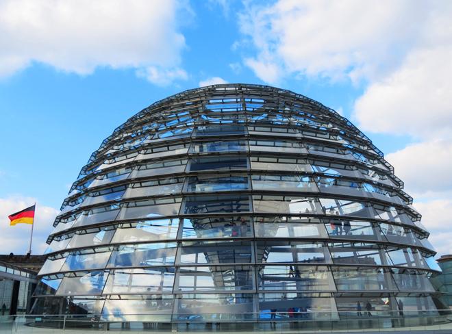 Cupula Reichstag Berlim